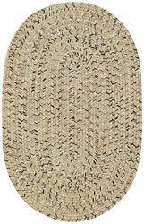 Capel Rugs Sea Pottery Polypropylene InOutdoor Braided Rug Shell Multi 600