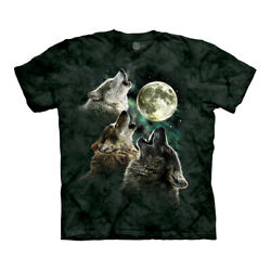 The Mountain Three Wolf Moon Adult Unisex T Shirt $20.60
