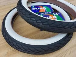 Kids Bicycle White Wall Tires and Tubes 14x1.75 Fits 1.95 2.125 BMX 14quot; Stroller $99.99