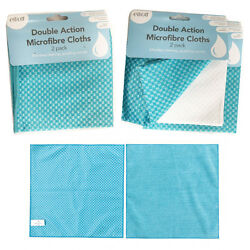 Cleaning Microfibre Cloth Home Kitchen Car Cloths Dry Clean Absorb Soft Polish