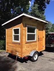 MICRO HOUSE  TINY HOUSE  ARTIST STUDIO ON WHEELS HE SHED  SHE SHED