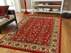 Red Traditional Oriental Medallion 8x10 Area Rug Carpet 2x3 Mat 5x7 Rugs $89.94