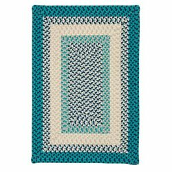 Montego Indoor Outdoor Rectangle Rug Oceanic ~ Made in USA