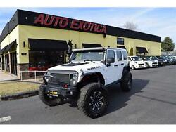 2015 Jeep Wrangler -- Bright White Clear Coat Jeep Wrangler Unlimited Rubicon with 10189 Miles availab