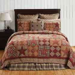 DAWSON STAR California King Quilt Lodge * DEER *  HUNTING * CABIN*  DELUXE SET
