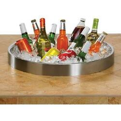 44-inch Propane Ice N Fire Pit Table - Lynx Sedona - Round - Falcon Gray