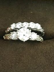 Hearts On Fire Wedding Ring Set