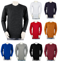 Styllion Big and Tall Mens THERMAL Shirts Crew Heavy Weight $21.99