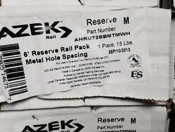 Azek 6' Reserve Rail Pack for metal balusters deck railing