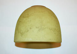 2 Burnished Lichen Glass Globes Shade Light Fixture Bathroom Vanity Replacement $20.50