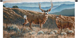 A Moment In Time Decorative Wall Hanging Elk Deer Wildlife Cabin Decor Log Home