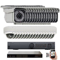 32 Channel NVR 1920P 5.0 MP InOutdoor PoE IP Security Camera System 2x5T HD