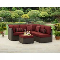Sofas and Loveseats Sets Outdoor Sectional Patio Garden Pool Deck 3 pc Furniture