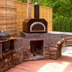 Chicago Brick Oven Cbo-750 Countertop Outdoor Wood Fired Pizza Oven - Copper