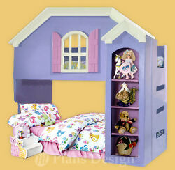 Dollhouse Bunk  Loft Twin Bed Woodworking Plans (Instructions) Do It Yourself