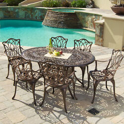 Patio Furniture Outdoor Dining Bistro Set Table Chairs Deck Backyard Garden New