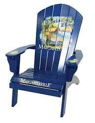 Margaritaville Adirondack Chair Kits Wood It's 5 O'clock Somewhere Castaway Bay
