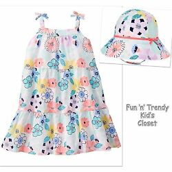 NWT Gymboree TROPICAL BREEZE Girls Size 6-12 Months Floral Maxi Dress