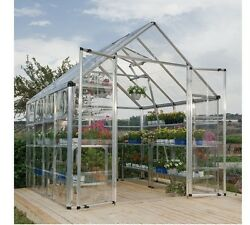 Large Outdoor Green House Outdoor Greenhouse Commercial Plants Flowers Patio Out