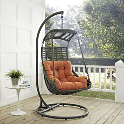 THE MODENZO Jungle Outdoor Patio Swing Chair With Stand Furniture Home Decor