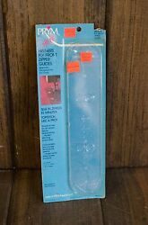 HisHer Front Zipper Guides Prym In Pkg Topstich like a Pro #4520 Sewing supply