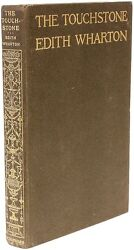 Edith WHARTON - The Touchstone - FIRST EDITION - SIGNED BY WHARTON !