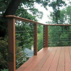 STAINLESS CABLE RAILING DECK RAILINGRAILEASY TURNBUCKLE WIRE RAILING FOR DECK