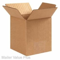 25  6 x 6 x 8 Corrugated Shipping Boxes Packing Storage Cartons Cardboard Box