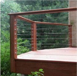 STAINLESS CABLE RAIL DECK RAILING RAILEASY TURNBUCKLE CABLE RAILING