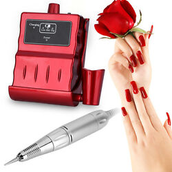 Pro 30000RPM Chargeable Nail Art Drill Manicure Grinding Grinder Machine Tool