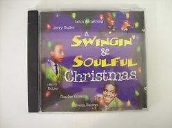 A SWINGIN' & SOULFUL CHRISTMAS cd 1998 Louis Armstrong Jerry Butler etc.