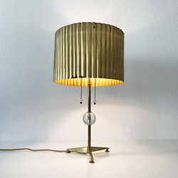 XL MID CENTURY MODERN Desk Light TABLE LAMP Scandinavian Wegner TYNELL Era 1950s