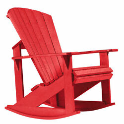 C.R.Plastic Products Generations Adirondack Rocking Chair