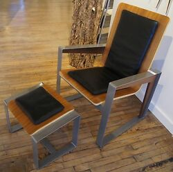 Original Wood Furniture Contemporary Lounge Chair Handmade Home Furnishings