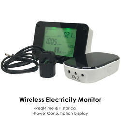 Wireless Electricity Electric Energy Monitor Smart Meter Energy Saving $52.99