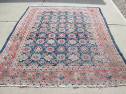 Beautiful Antique Persian Sultanabad Mahal Rug Estate Purchase