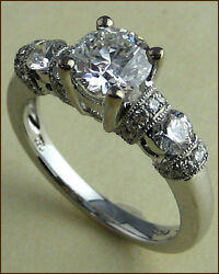 Hearts on Fire 18k Emphasis 1 ct. Diamond Engagement Ring - NEW - $16800