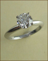Hearts on Fire 18k Insignia 1.18 ct. Diamond Solitaire Ring - NEW - $15290