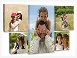 CUSTOM GALLERY WRAPPED CANVAS PRINT YOUR OWN PHOTO ON CANVAS $16.99