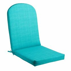 Adirondack Chair Cushion Turquoise Seat Padding Indoor Outdoor Cushioned Seating