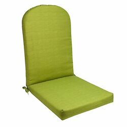 Adirondack Chair Cushion Green Seat Padding Indoor Outdoor Cushioned Seating NEW