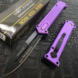 NEW TAC FORCE Joker quot;Why So Serious?quot; Black Blade Rescue Pocket Knife TF 457PU $10.30
