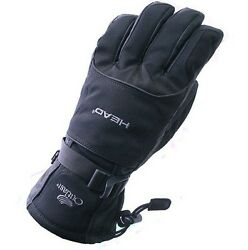 Skiing Gloves Thermal Leather Warm Winter Snow Cover Motorcycle Cycling Glove