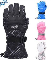 Outdoor Sports Skiing Gloves Winter Snow Motorcycle Cycling Think Hand Glove