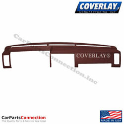 Coverlay Dash Board Cover Maroon 10 725 MR For D21 Pickup Hard Body Front Upper $188.62