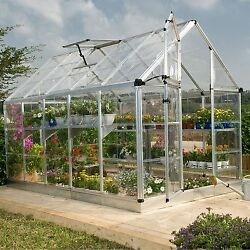 Palram Snap & Grow  Greenhouse Kits with Silver Frame - 6 x 12 NEW