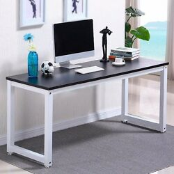 Wood Computer Desk PC Laptop Study Table Workstation Home Office Table $92.91