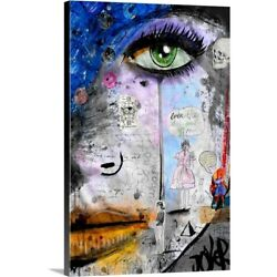 Solid-Faced Canvas Print Wall Art entitled She Is Well Aquainted