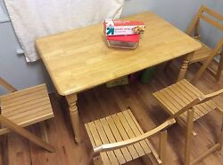 handmade dining table sets $100.00