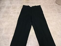 EXCELLENT COND USED ONCE VINTAGE JOHNSON HUNTING HEAVY TICK WOOL PANTS 34